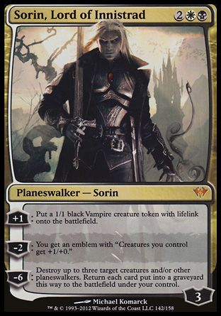 Sorin, Lord of Innistrad, Dark Ascension