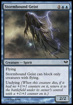 Stormbound Geist, Dark Ascension