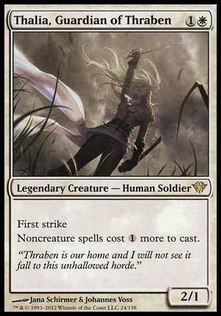 Thalia, Guardian of Thraben, Dark Ascension
