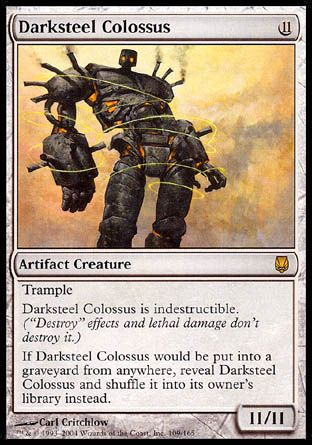 Darksteel Colossus, Darksteel