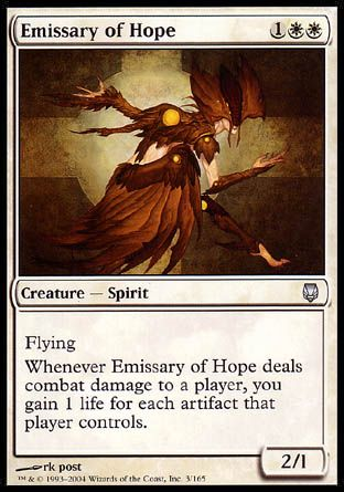 Emissary of Hope, Darksteel