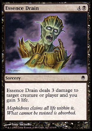 Essence Drain, Darksteel