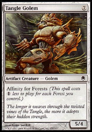 Tangle Golem, Darksteel