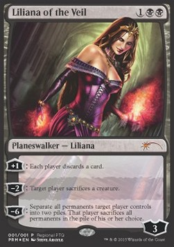Liliana of the Veil, DCI Promos