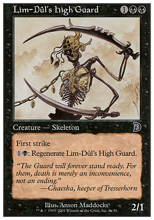 Lim-Dul's High Guard, Deckmasters