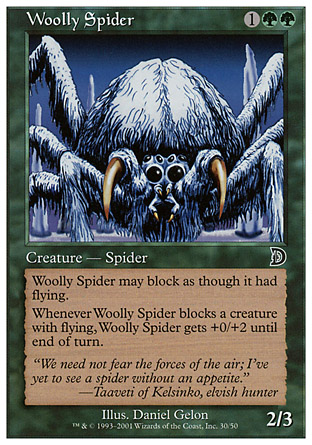 Woolly Spider, Deckmasters