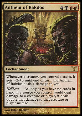 Anthem of Rakdos, Dissension