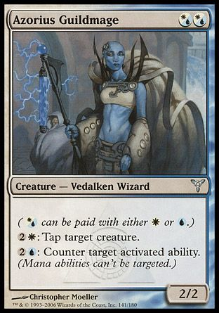 Azorius Guildmage, Dissension