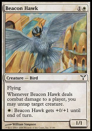 Beacon Hawk, Dissension