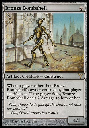 Bronze Bombshell, Dissension