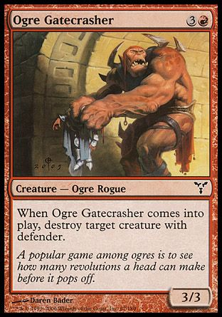Ogre Gatecrasher, Dissension