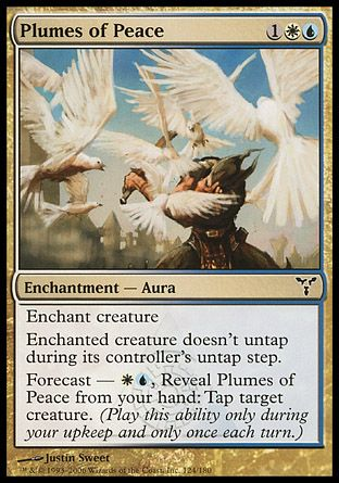 Plumes of Peace, Dissension
