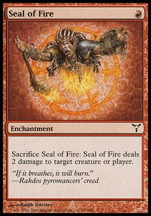 Seal of Fire, Dissension