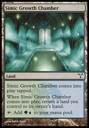 Simic Growth Chamber, Dissension