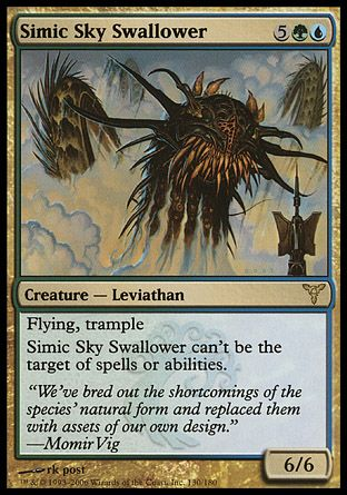 Simic Sky Swallower, Dissension