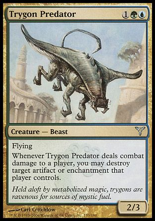 Trygon Predator, Dissension