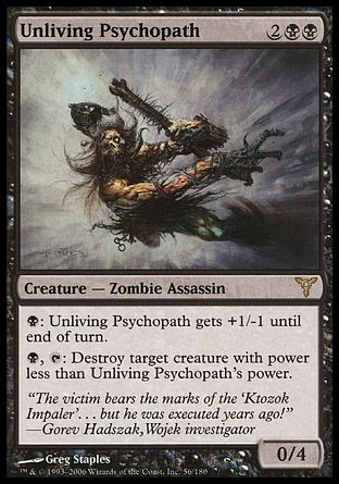 Unliving Psychopath, Dissension