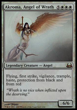 Akroma, Angel of Wrath, Divine vs Demonic