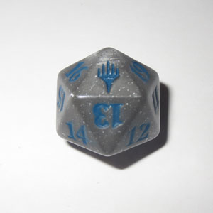 Duel Decks Anthology D20 Die (Gray), Dobbelstenen