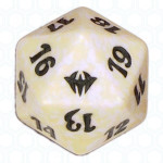 White Dark Ascension D20 Die, Dobbelstenen