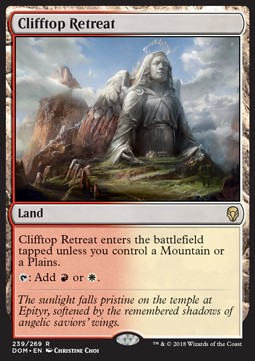 Clifftop Retreat, Dominaria
