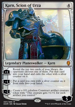 Karn, Scion of Urza, Dominaria