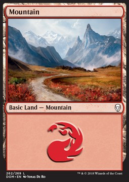 Mountain, Dominaria