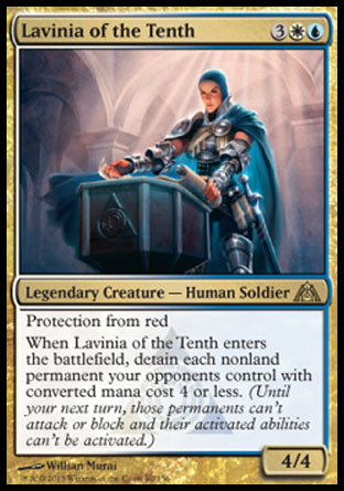 Lavinia of the Tenth, Dragons Maze