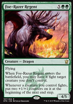 Foe-Razer Regent, Dragons Of Tarkir Promos