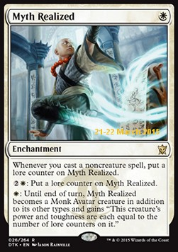 Myth Realized, Dragons Of Tarkir Promos