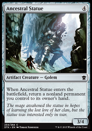 Ancestral Statue, Dragons of Tarkir