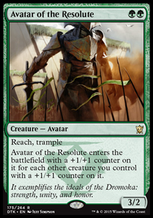 Avatar of the Resolute, Dragons of Tarkir
