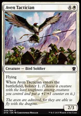 Aven Tactician, Dragons of Tarkir