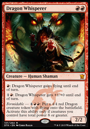 Dragon Whisperer, Dragons of Tarkir