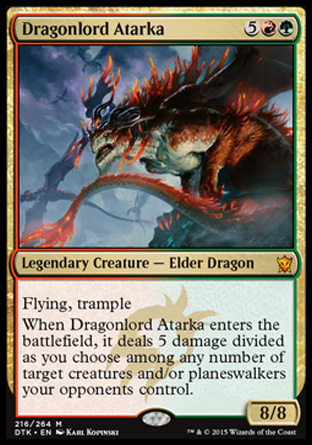 Dragonlord Atarka, Dragons of Tarkir