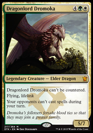 Dragonlord Dromoka, Dragons of Tarkir