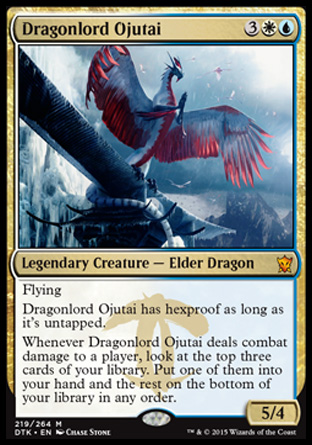 Dragonlord Ojutai, Dragons of Tarkir