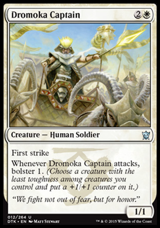 Dromoka Captain, Dragons of Tarkir