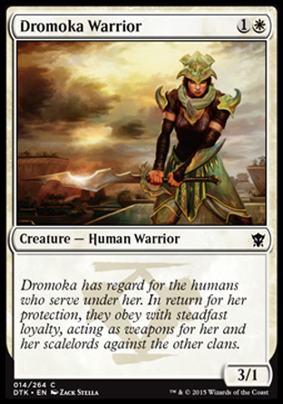 Dromoka Warrior, Dragons of Tarkir
