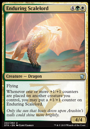 Enduring Scalelord, Dragons of Tarkir