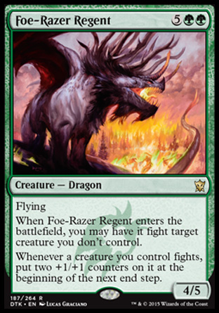 Foe-Razer Regent, Dragons of Tarkir