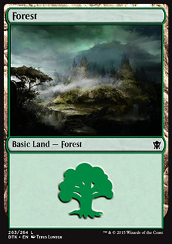Forest, Dragons of Tarkir