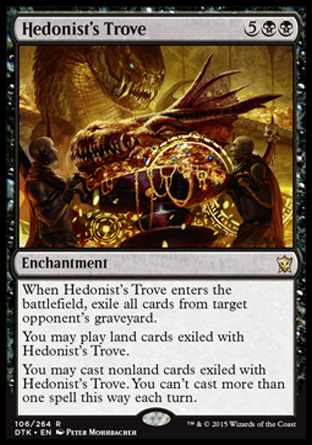Hedonist's Trove, Dragons of Tarkir