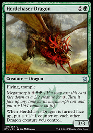 Herdchaser Dragon, Dragons of Tarkir