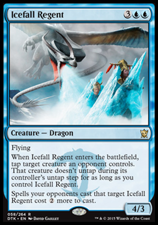 Icefall Regent, Dragons of Tarkir