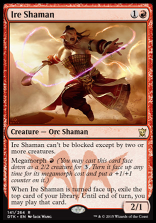Ire Shaman, Dragons of Tarkir