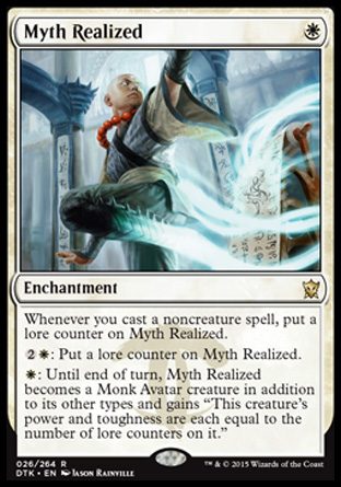 Myth Realized, Dragons of Tarkir