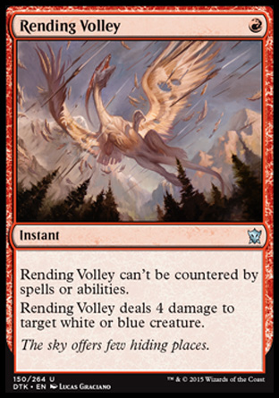 Rending Volley, Dragons of Tarkir
