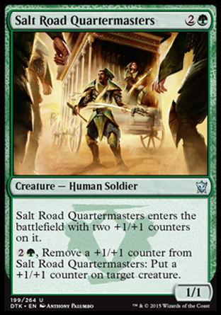 Salt Road Quartermasters, Dragons of Tarkir