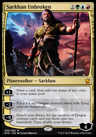 Sarkhan Unbroken, Dragons of Tarkir